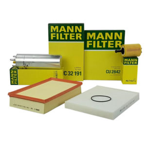 VW T5 Mann Filter Service Kit. Air, Oil, Fuel, Cabin Filters